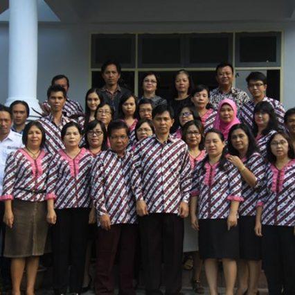 Staf BPNB Manado