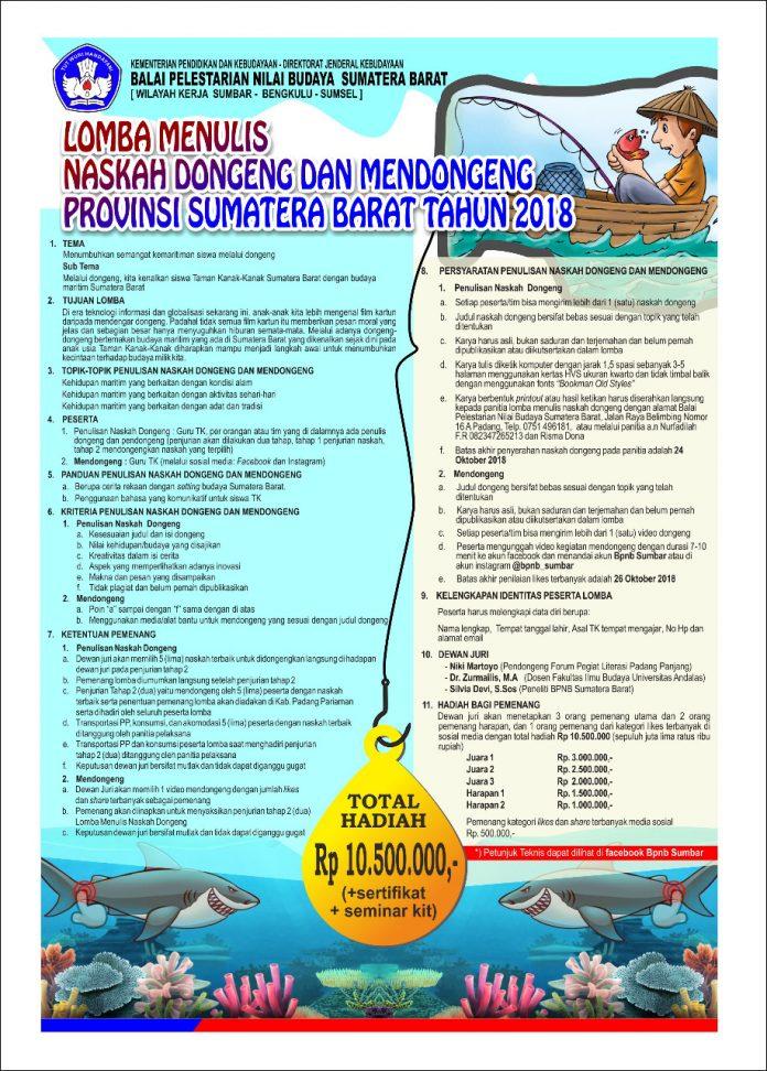 Layanan Balai Pelestarian Nilai Budaya Sumatera Barat