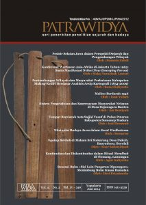 Jurnal Patrawidya, Volume 15, No. 2, Juni 2014