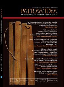 Read more about the article Jurnal Patrawidya Vol. 17 No. 1, April  2016