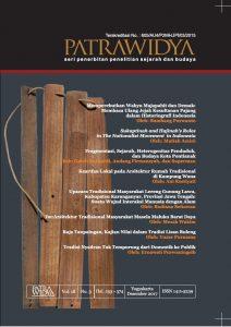 Read more about the article Jurnal Patrawidya Volume 18 Nomor 3, Desember 2017