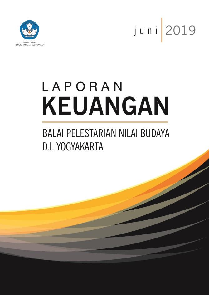 Cover Lapkeu Balai Pelestarian Nilai Budaya D I Yogyakarta