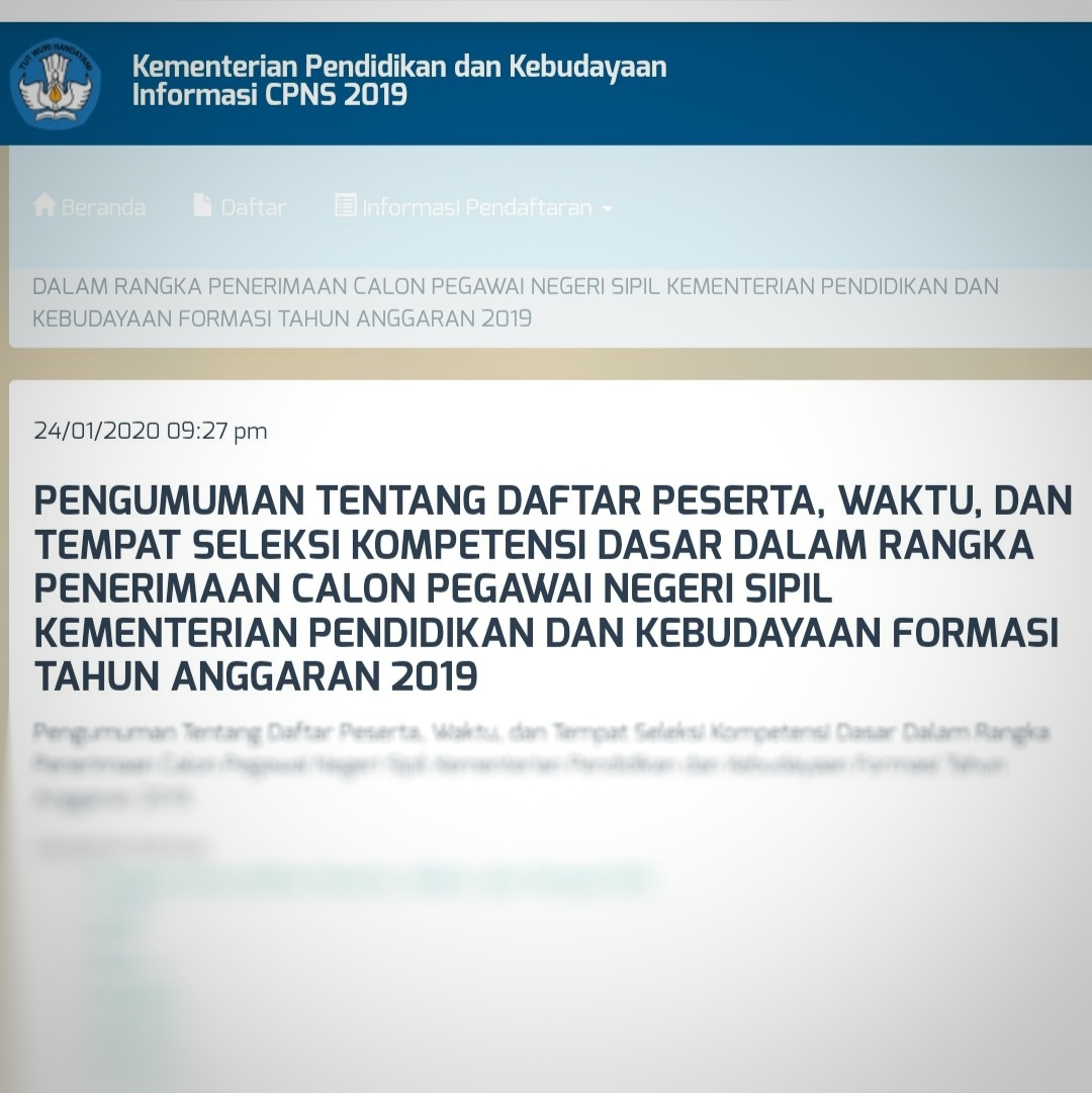 Pendaftaran Cpns 2020 Yogyakarta - Informasi CPNS/ASN ...