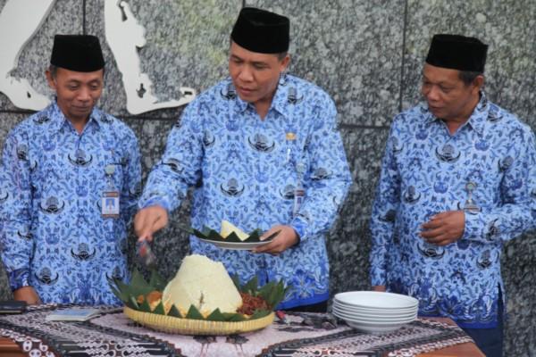 Read more about the article FILOSOFI TUMPENG DI BPSMP SANGIRAN