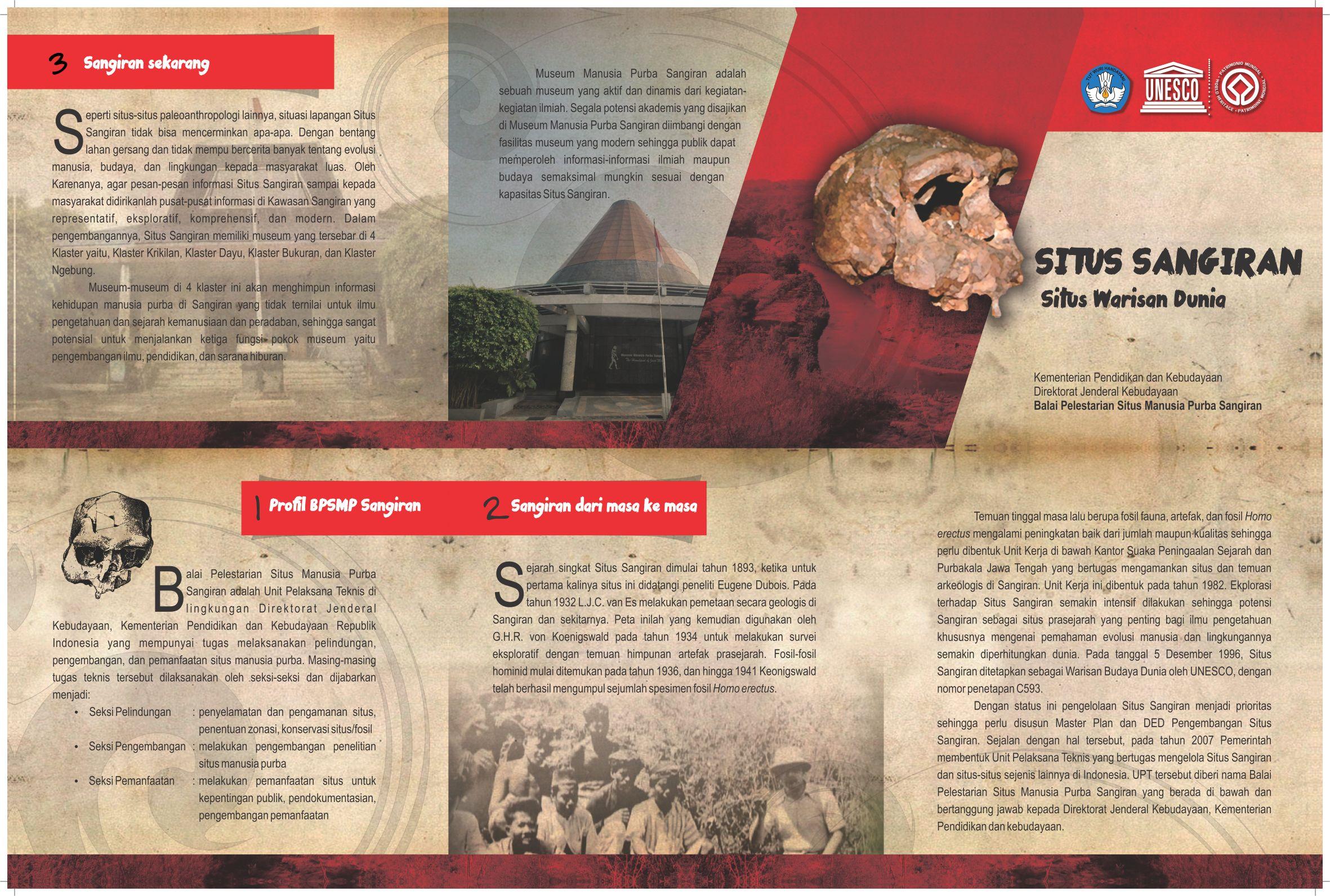 Read more about the article SANGIRAN, SITUS WARISAN DUNIA