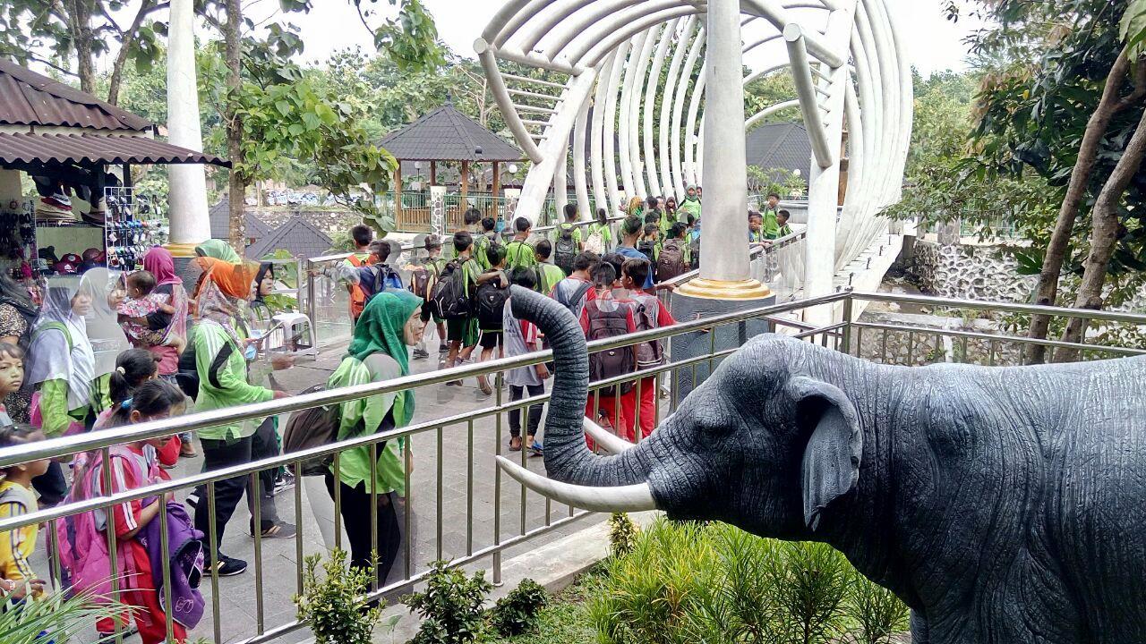Read more about the article Libur Jeda, Sangiran Penuh Kunjungan Siswa