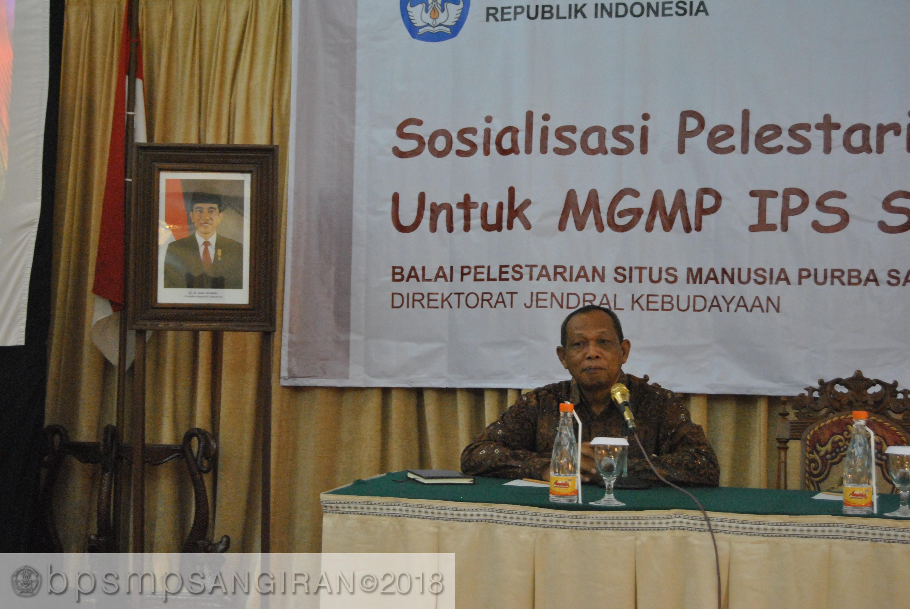 Read more about the article Pengayaan Materi Prasejarah Sangiran Bagi MGMP IPS Kota Surakarta