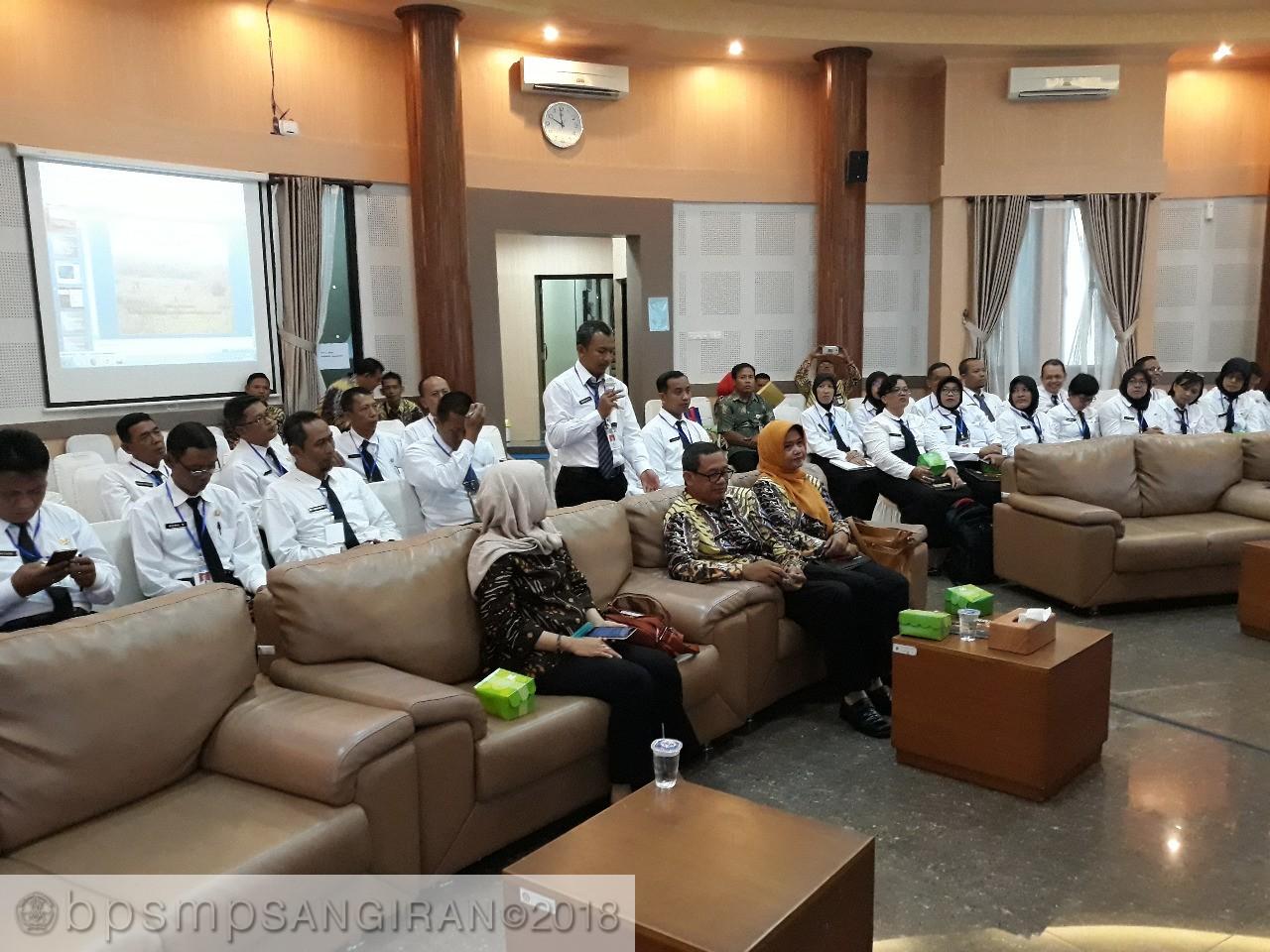 Read more about the article Peserta Diklatpim Tk. IV Kabupaten Sragen Melakukan Kunjungan Di Balai Pelestarian Situs Manusia Purba Sangiran