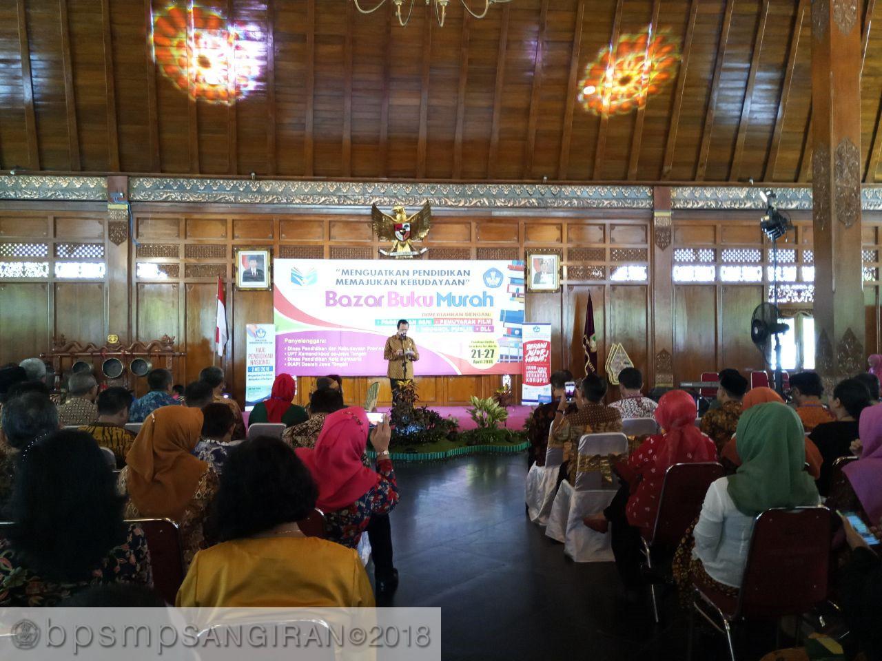 Read more about the article BPSMP Sangiran Ikut Meramaikan Peringatan Hardiknas 2018