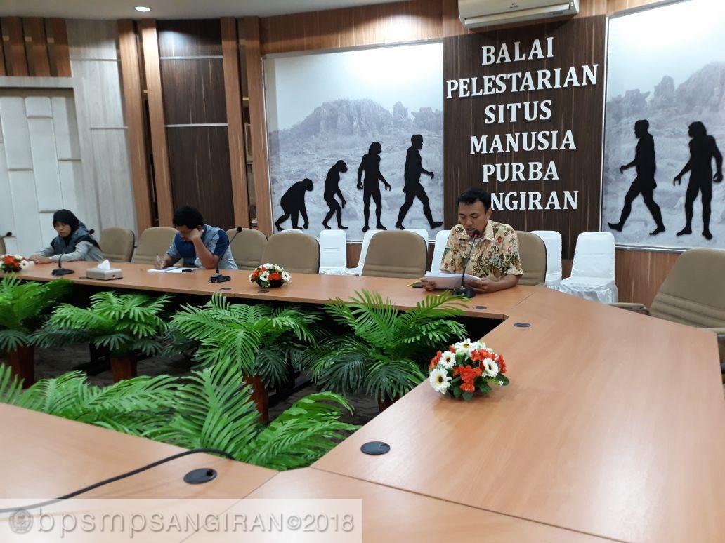 Read more about the article Pembukaan Workcamp GREAT Indonesia 2018 di BPSMP Sangiran
