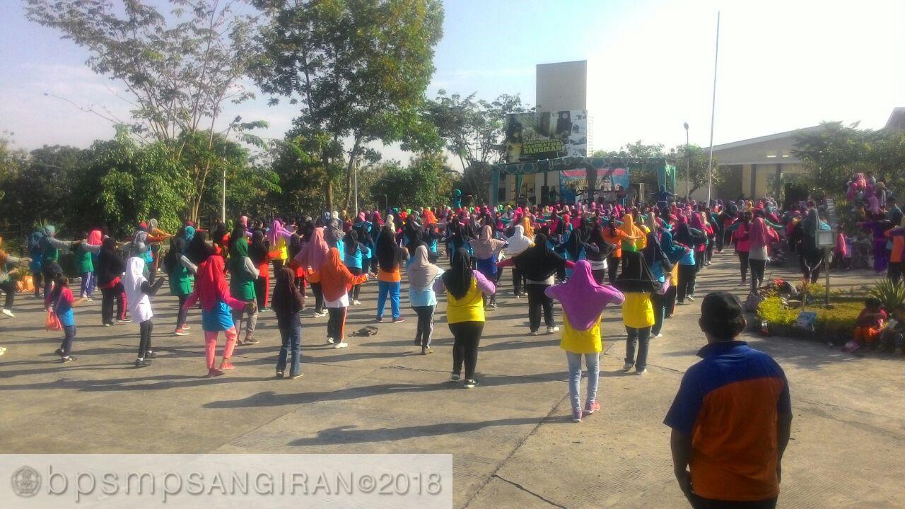 Read more about the article Senam Bersama di Museum Manusia Purba Sangiran Klaster Ngebung