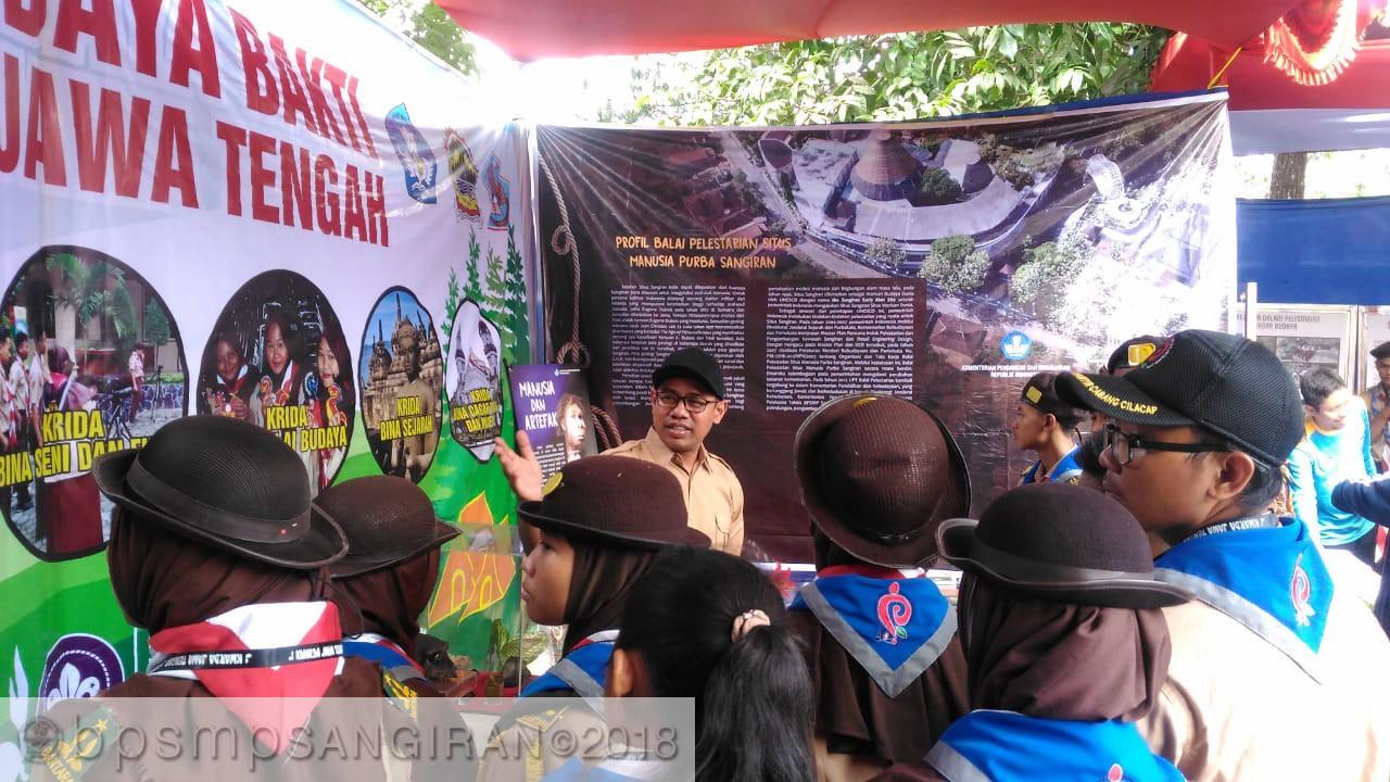 Read more about the article BPSMP Sangiran Turut Menyemarakkan PERANSAKA ke-VII di Tegal
