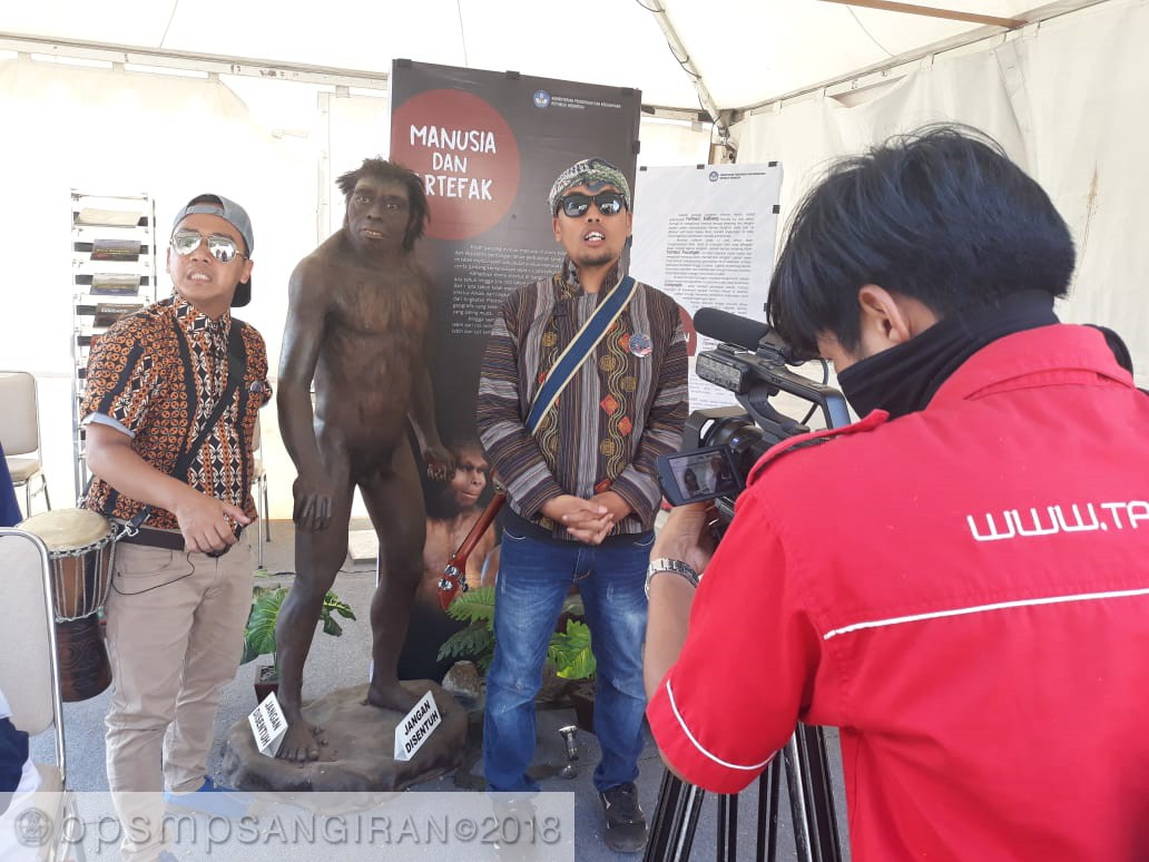 Read more about the article Mantra Mampir di Stan BPSMP Sangiran
