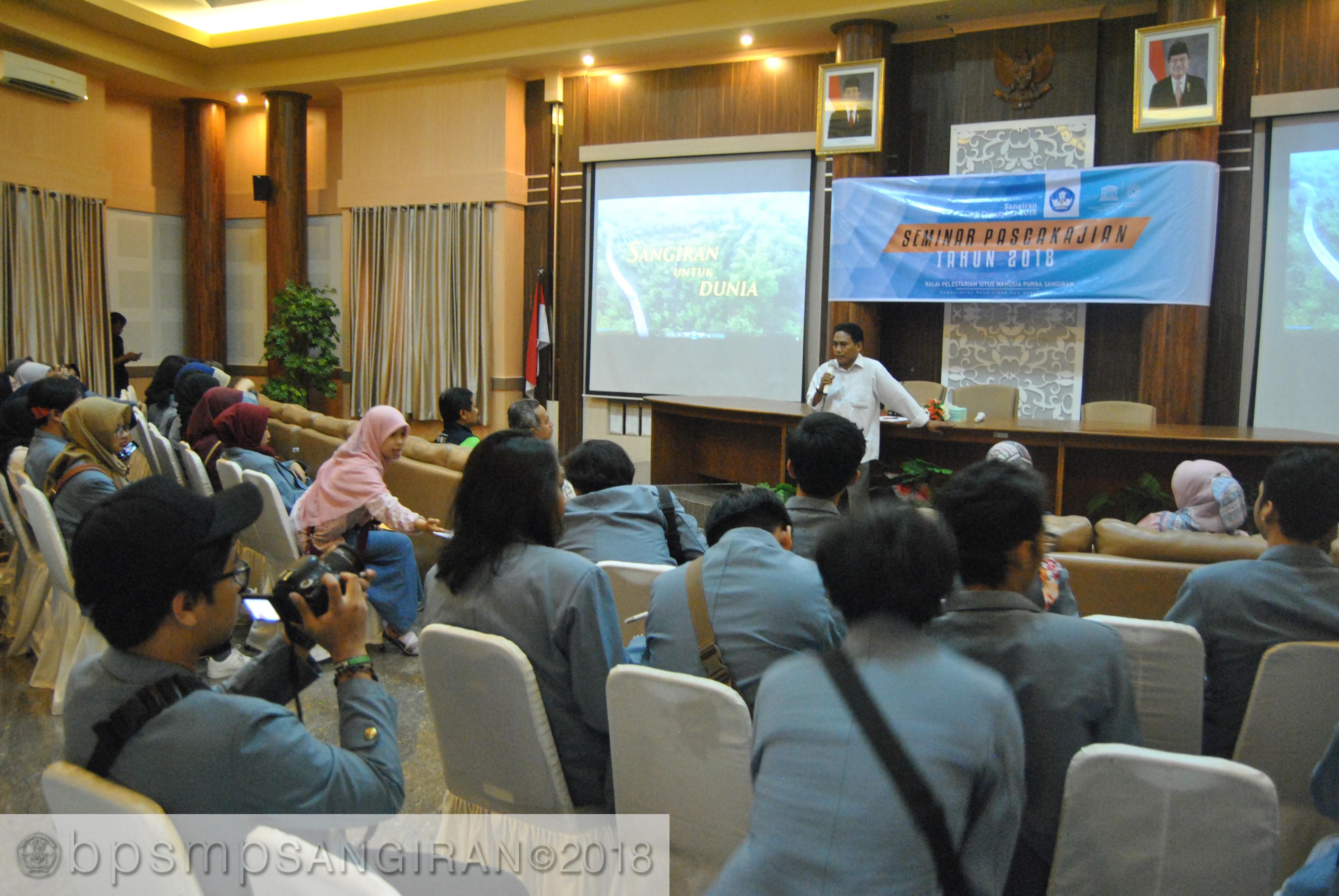 Read more about the article Kunjungan UPI Bandung di Sangiran