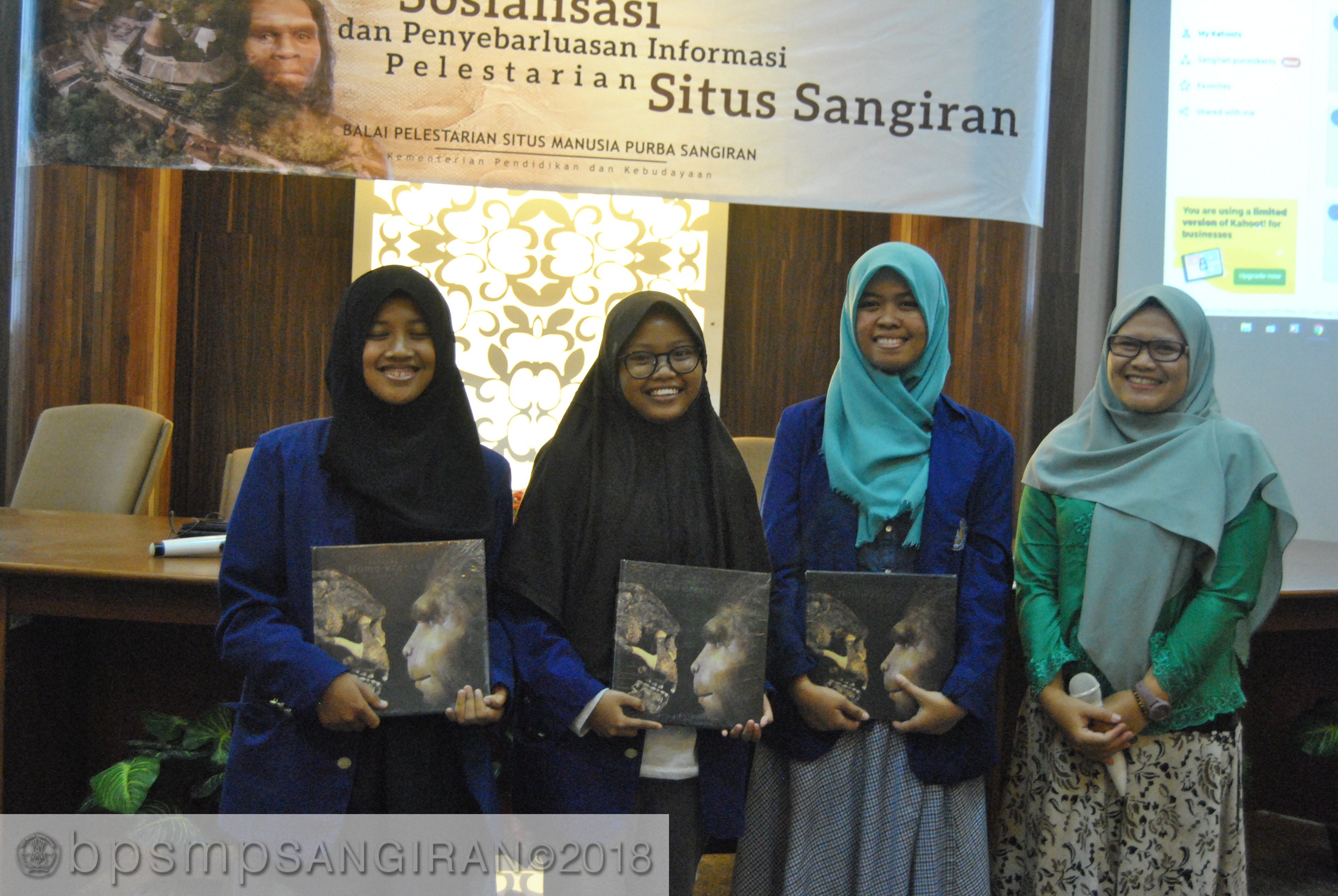 Read more about the article Saat Anak Milenial Bersua Kahoot di Sangiran