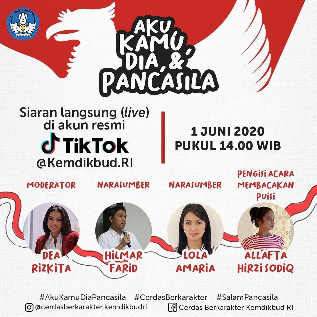 Read more about the article Kemendikbud Gelar Bincang Aku, Kamu, Dia dan Pancasila