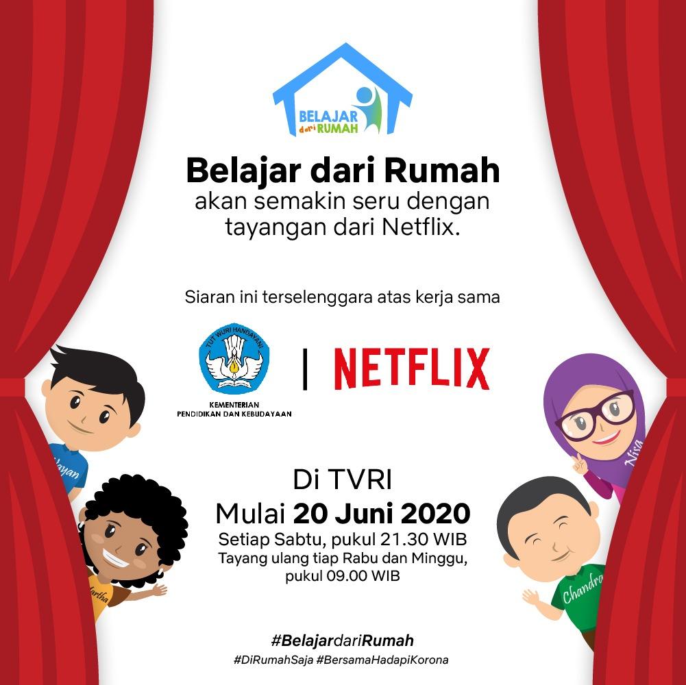 Read more about the article Kemendikbud Hadirkan Film-Film Dokumenter Netflix pada Program Belajar dari Rumah