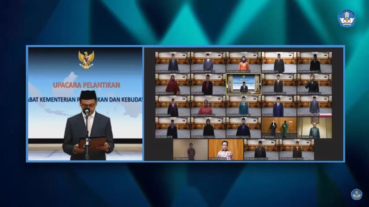 Read more about the article Sekretaris Jenderal Kemendikbud Lantik 13 Pejabat Tinggi Pratama, Satu Rektor dan Lima Pejabat Fungsional