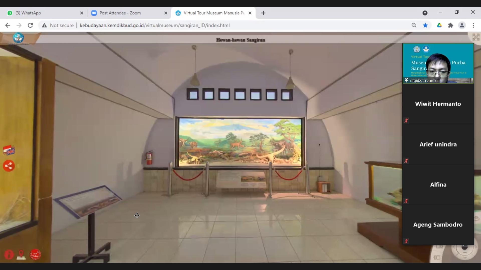 Read more about the article BPSMP Sangiran Mengedukasi Melalui Virtual Museum