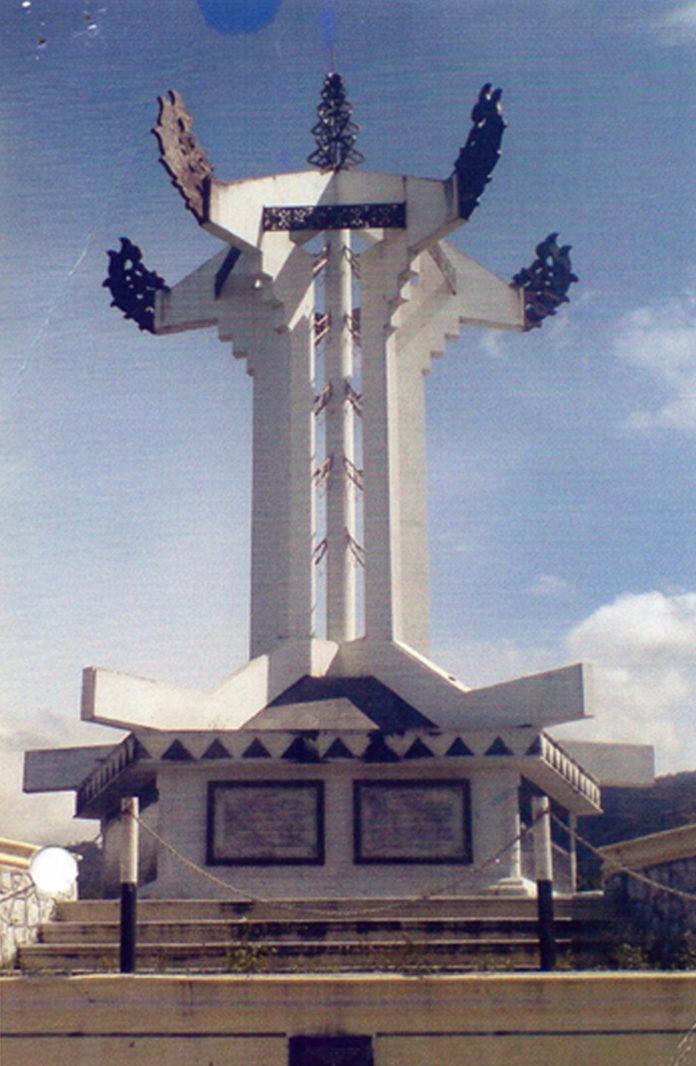 Berdiri kokoh sebagai simbol monumen Radio Perjuangan Rimba Raya, Kab. Aceh Tengah.
