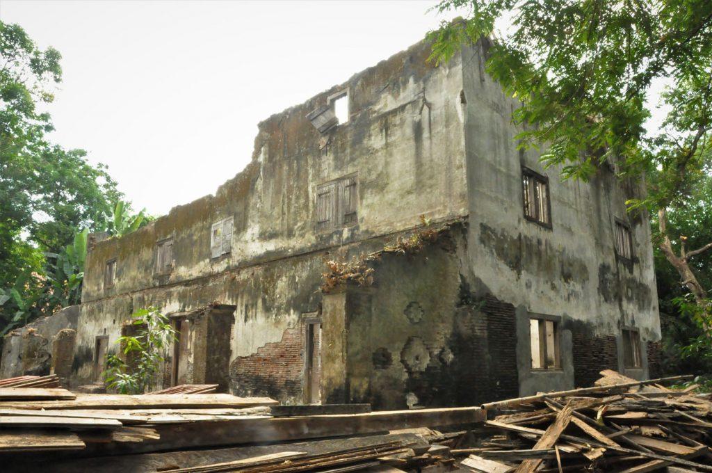 Gedung Pulantara sebelum direvitalisasi.