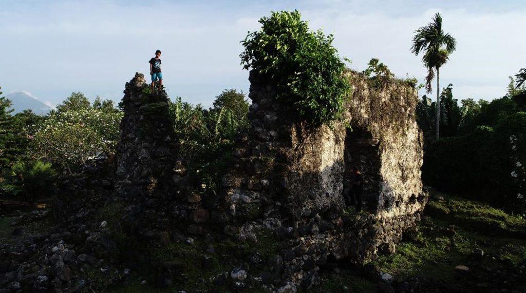Benteng Kastela Ternate.