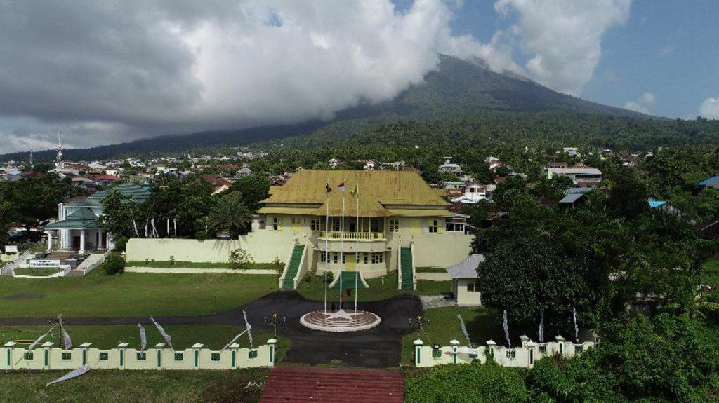 Kedaton Kesultanan Ternate.