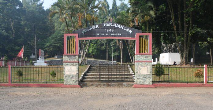 Gerbang Monumen dan Museum Palagan Bojongkokosan.