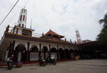 Masjid Al-Alam Cilincing di Jalan Cilincing Lama II RT 005/RW 004, Kelurahan Cilincing, Kecamatan Cilincing, Jakarta Utara. (Foto: Sri Murjani)