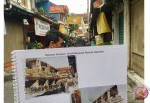 Pecinan Ketandan dan Rencana Penataan Fasadnya. (Eka Arifa Rusqiyati/ANTARA News)