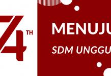 Peringatan Ulang Tahun Ke-74 Republik Indonesia: Menuju SDM Unggul