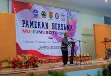 Pameran Dibuka oleh Fitra Arda, Direktur Pelestarian Cagar Budaya dan Permuseuman (26/8).