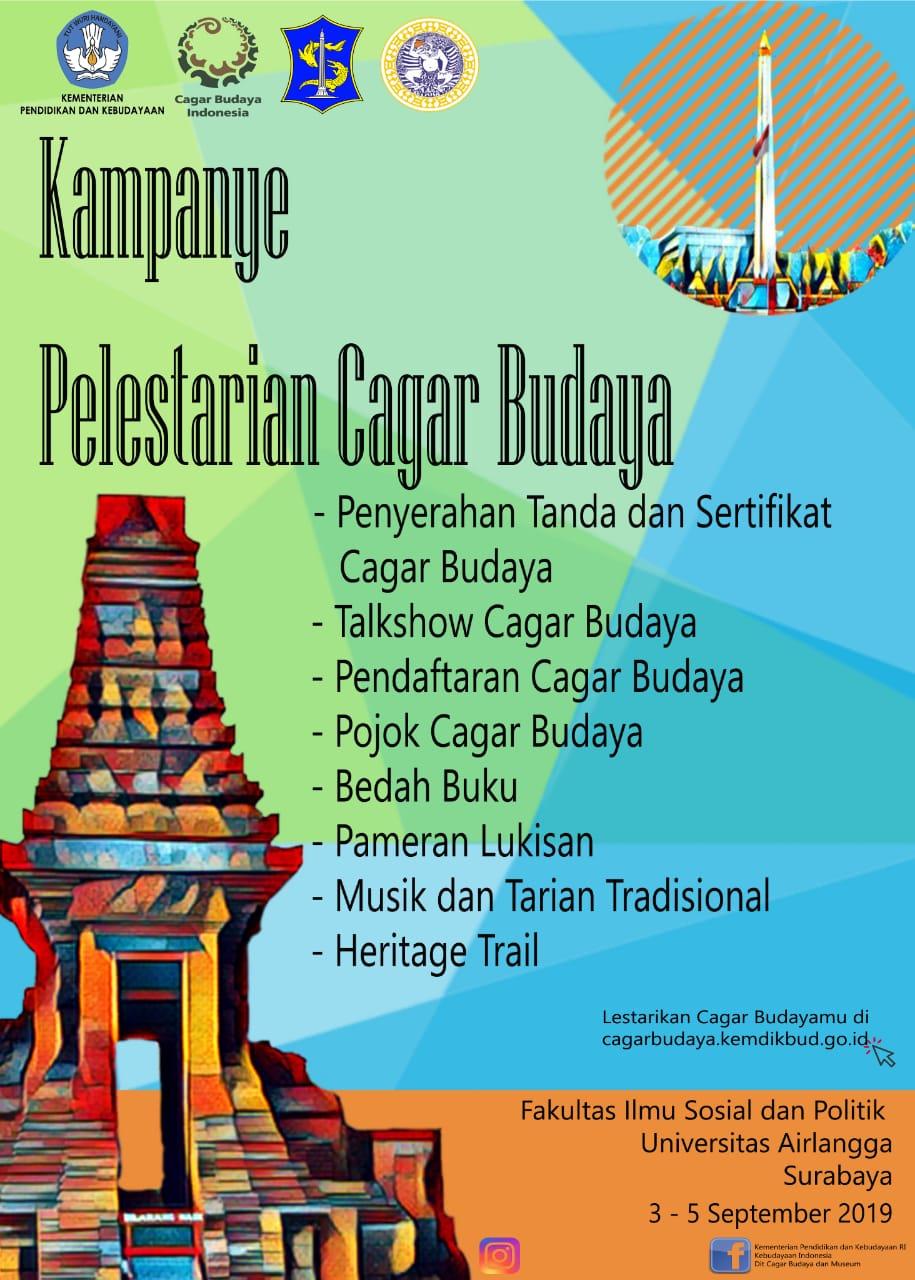 Kampanye Pelestarian Cagar Budaya Di Surabaya Direktorat