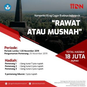 Kompetisi Blog Cagar Budaya: Rawat atau Musnah
