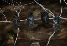 Pameran Wayang Daun di Pekan kebudayaan Nasional