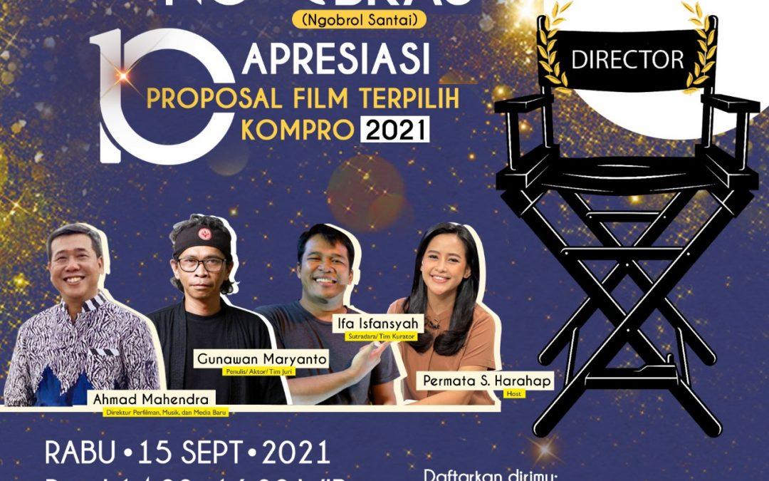Kemendikbudristek Siap Produksi 10 Proposal Film Pendek Terpilih pada Kompetisi Produksi Film 2021