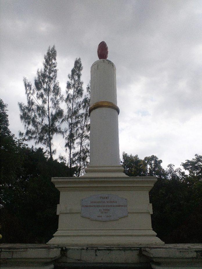 Tugu Lilin Surakarta simbol Kebangkitan Nasional.