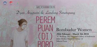 Dyan Anggraini dan Landung Simatupang Perempuan (di) Borobudur