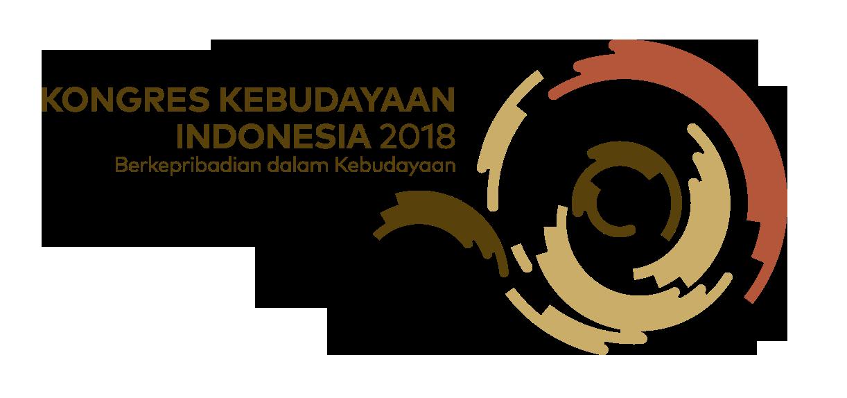 Logo Kongres Kebudayaan Indonesia 2018