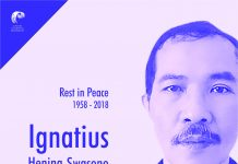 Rest in Peace Ignatius Hening Swasono