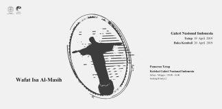 Wafat Isa Al-Masih, Galeri Nasional Indonesia Tutup Sementara