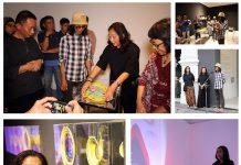 "Suasana Pameran Karya Bibiana Lee dan Indah Arsyad ""id: Sengkarut Identitas"""