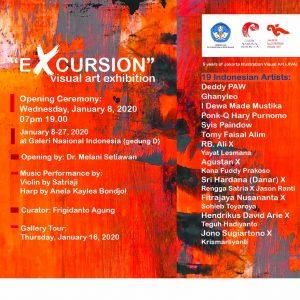 """EXCURSION"" 5 Years of Jakarta Illustration Visual Art (JIVA)"