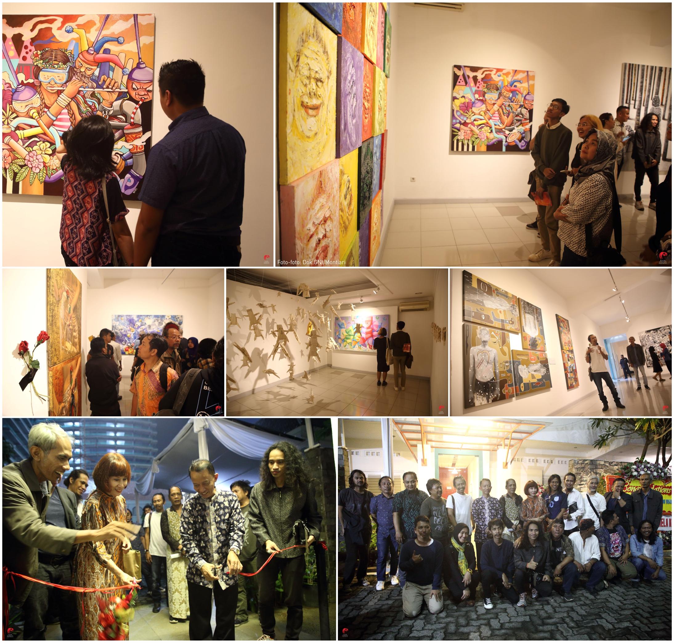 Pameran Lima Tahun Eksistensi Jakarta Illustration Visual Art