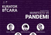 Kurator Bicara Manifesto VII Pandemi