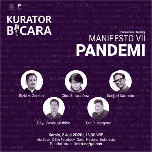 Read more about the article Kurator Bicara Pameran Daring Manifesto VII PANDEMI
