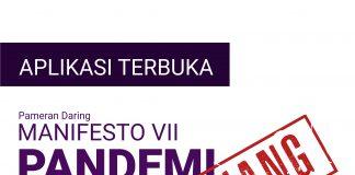 Open Call Manifesto VII PANDEMI diperpanjang