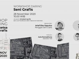 Workshop Daring Grafis & Sketsa