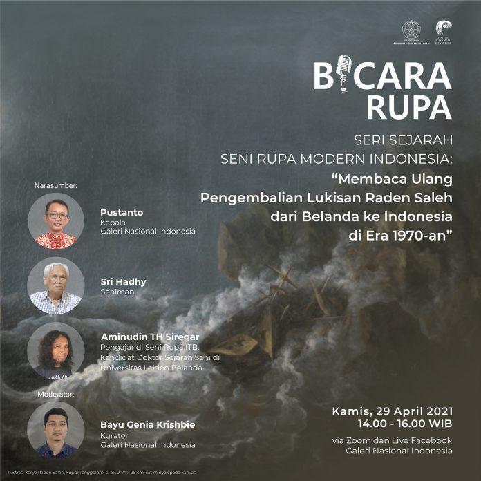 Bicara Rupa - Sejarah Seni Rupa Modern Indonesia