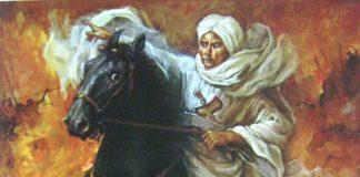 Basuki Abdullah, Diponegoro memimpin pertempuran, oil on canvas, 150cm X 120cm-koleksi bung karno